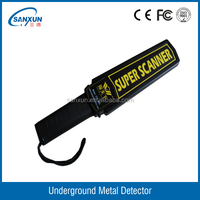 airport handle metal detector