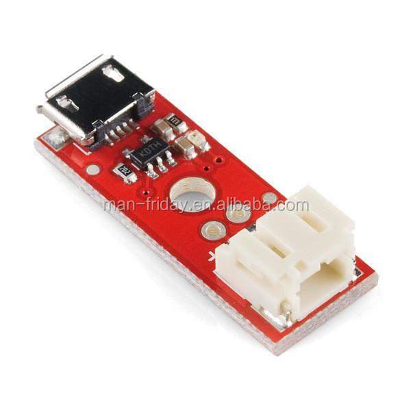 Electronic 3.7V Red LiPo Battery USB Battery Charger For Charging Power