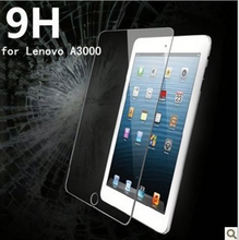 High quality Hardness 9H 0.4mm 2.0D tempered glass screen protector for Lenovo A3000