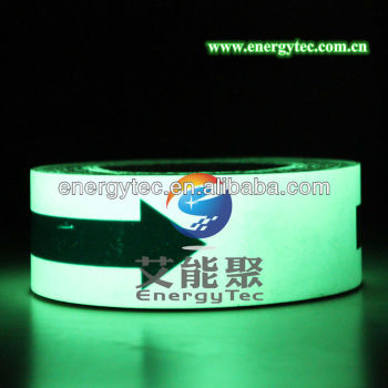 high brightness PVC Glow in the dark Vinyl Film