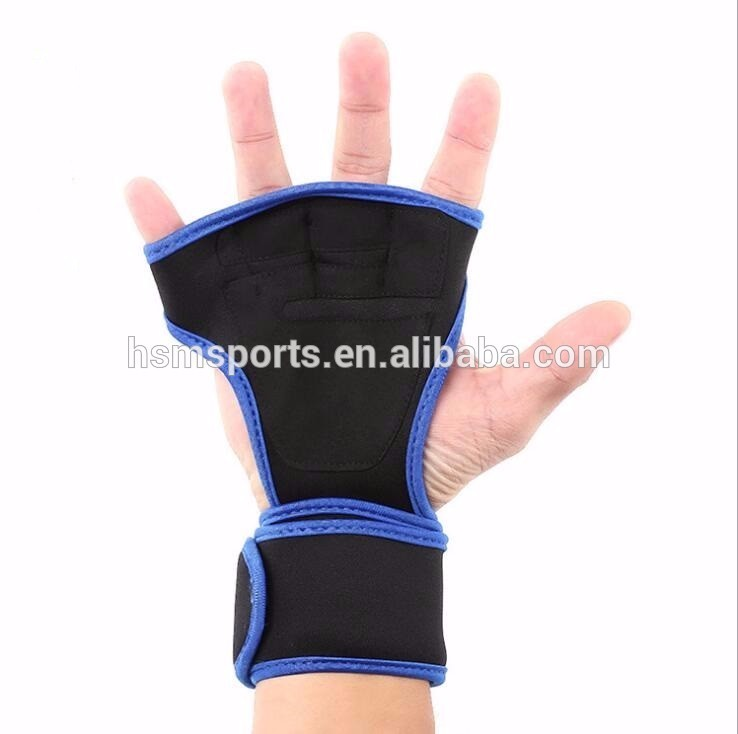gym fitness neoprene weight lifting gloves