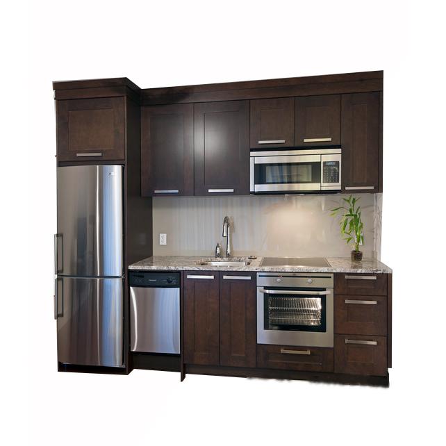 Hot Sale Solid Wood Kitchen Cabinet Sw 080 Modern Kitchen Price