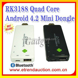 ARM A9 External 3G Dongle RK 3188 Quad Core Android 4.2 TV Mini Dongle