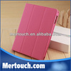 Fashion Foldable Stand Magnetic PU Smart Cover for ipad mini with Multi-colors