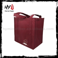 Hot sale pp nonwoven tote bag, customized logo shopping nonwoven bag, nonwoven shopper tote bags