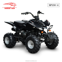 SP150-4 Chinese performance atv Shipao 150cc atv quad All Terrain Vehicle