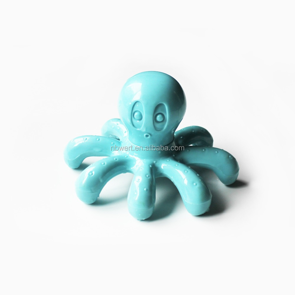hand held bath shower massage body hand feet back octopus massager