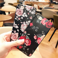 Rose flower pattern series case for Xiaomi Redmi note 4,3D pattern soft TPU Couple and goodfriends's gift TPU case for Xiaomi Re