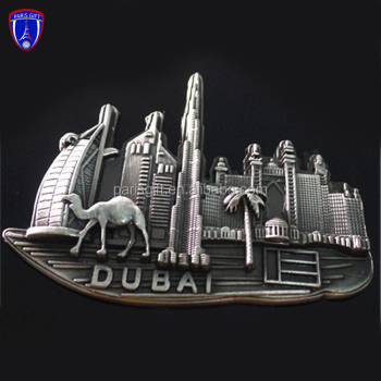 custom 3d Dubai image antique fridge magnets for sale