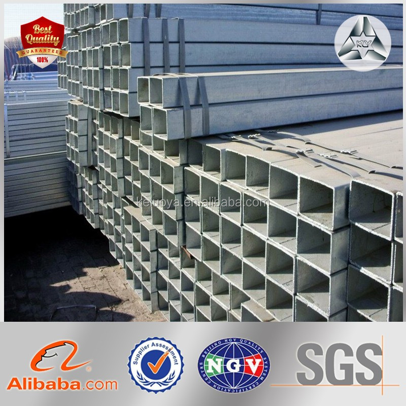 Price of Hot Dipped Galvanized Rectangular Steel Hollow Section Carbon Rectangular Tube Steel Pipe Rectangular Steel Tube