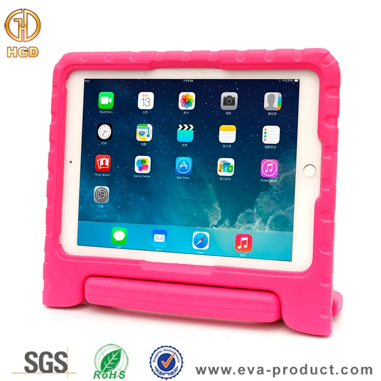 EVA handle stand cover case for ipad pro 9.7 inch, for ipad pro 9.7 tablet case silicone