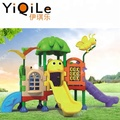 Special design kids plastic slide outdoor playground amusement from China supplier