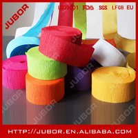 Hot Sell Decoration Crepe Paper With Various Colors