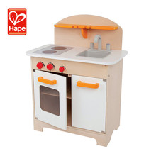 Christmas Gift High Quality educational play house wooden modern kitchen toy