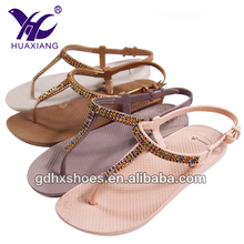 Nice Design Ladies Summer Fancy Flat Sandal