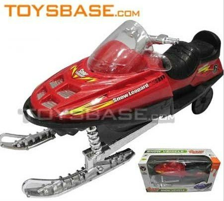 Kids plastic Friction Snowmobile toy FCC94997