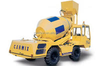 TOBEMAC new design concrete truck mixer with front loader