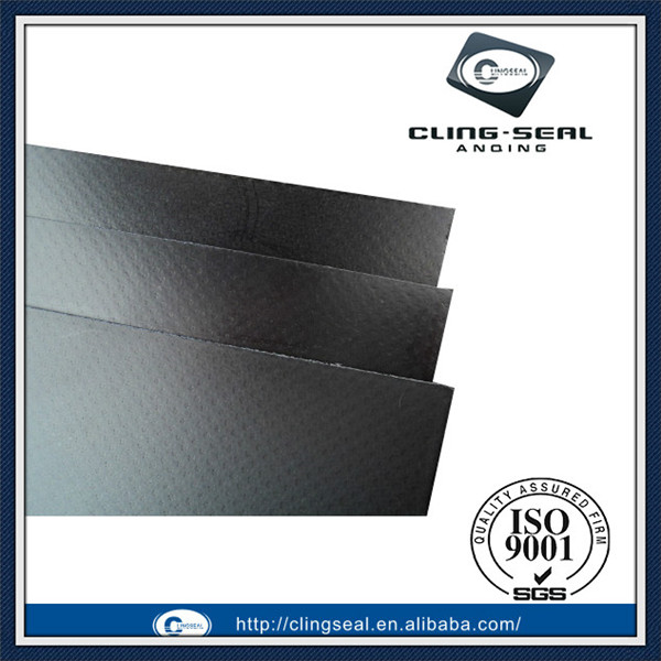 Cylinder head gasket material,reinforced graphite sheet with tanged metallic
