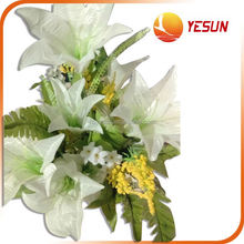 Competitive price factory directly wedding bouquet wholesale artificial flower