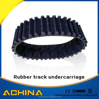 Excavator steel rubber track undercarriage competitive price