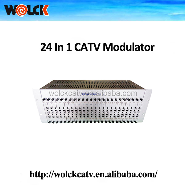 Good price Catv fixed modulator 24 in one from Wolck