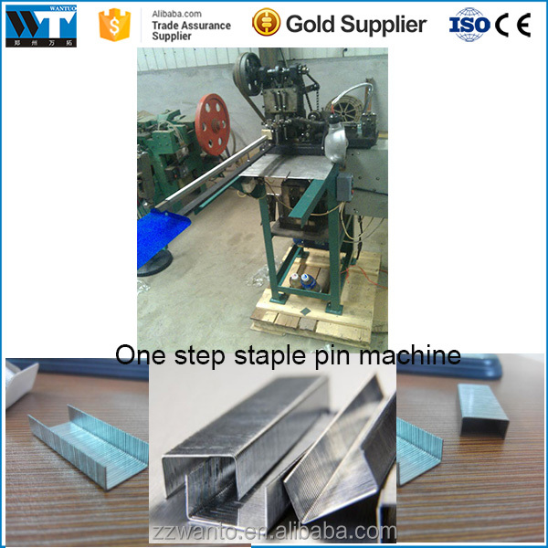 Cheap price Automatic single Staple pin making machine|Wire nail making machine|