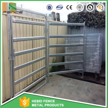 China Factory Heavy duty galvanized livestock cattle panels used cattle corral panels