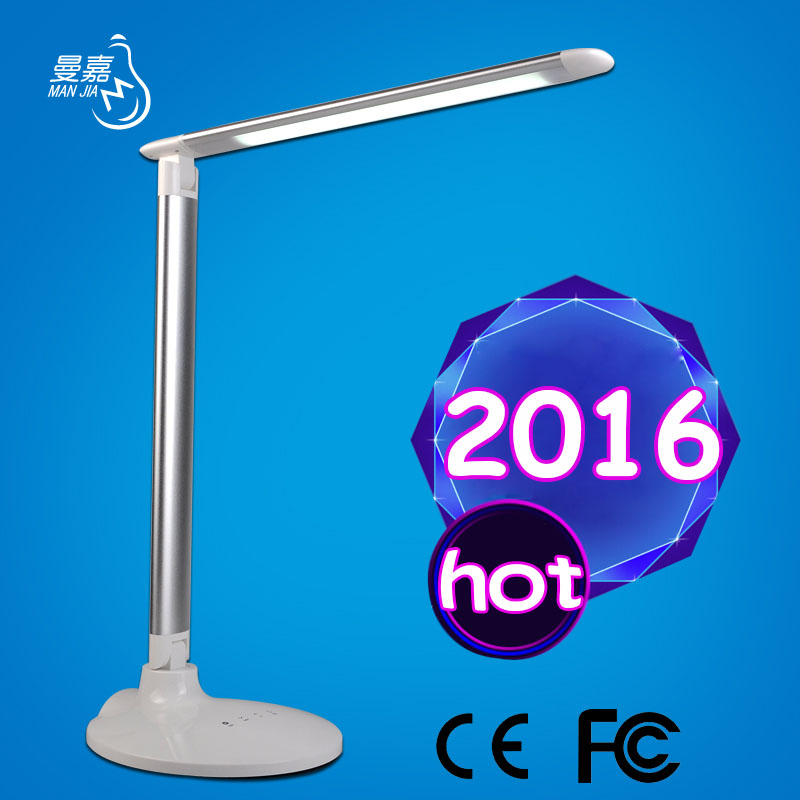 Detachable ultrathin aluminum cute bedroom desk light USB products for office desk MJ-T21