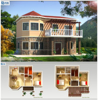 70 Years Life Span New Technology Fast Assembling russia prefab houses