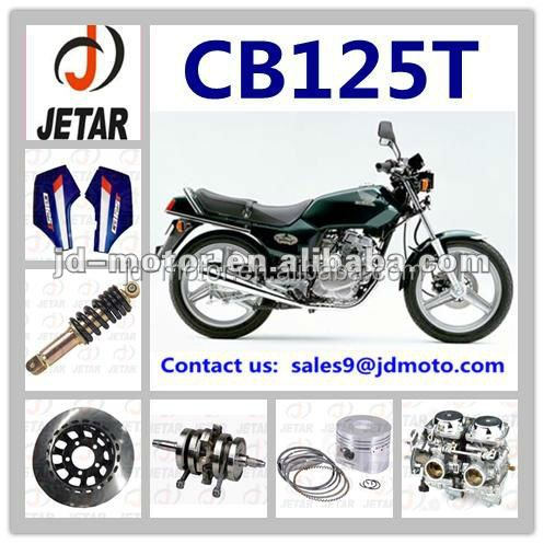motorcycle spare parts for CB125T