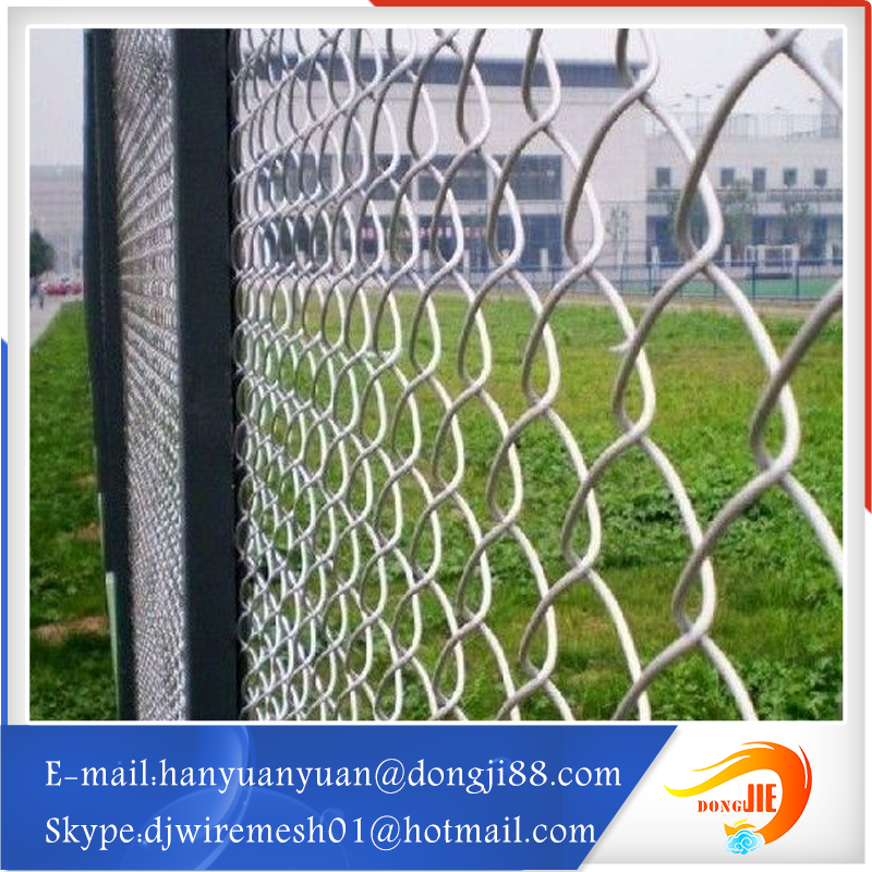 Anping Five Star Diamond hole fashionable Chain Link Fence