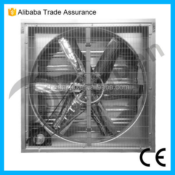 Industrial galvanized sheet stainless steel wall mounted window fan