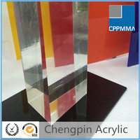 lucite transparent colored cast acrylic sheet / acrylic manufacturers