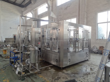 CGF16-12-6 Small scale Bottling water filling machine production line