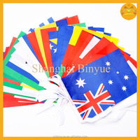 hand flag with plastic rods ,car flags,car hood flag