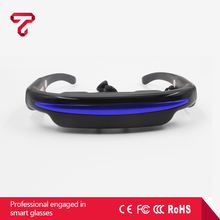 72 Inch portable mobile theatre video glasses for FPV and UAV