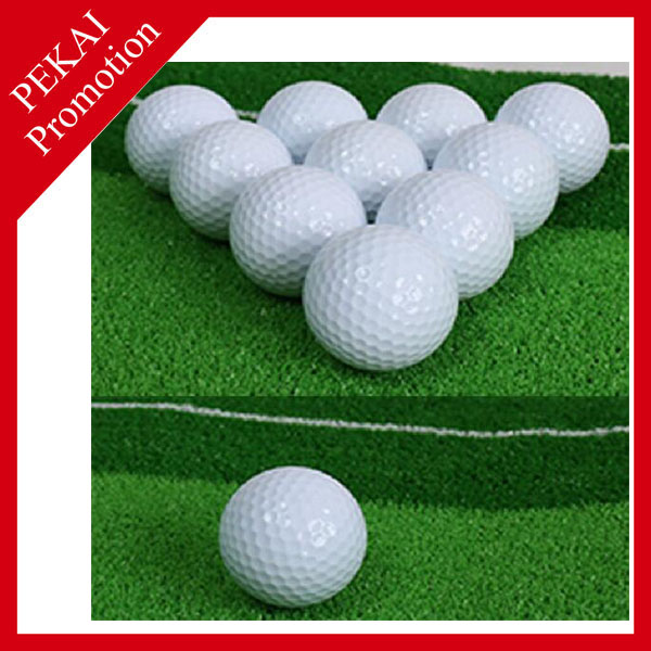 Colorful large decorative golf ball