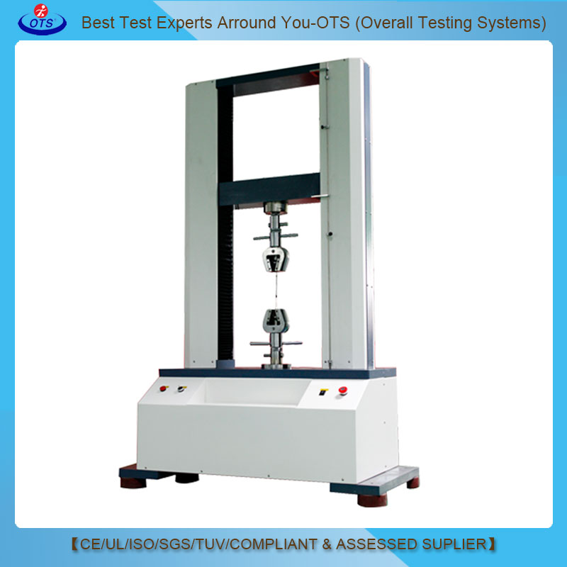 UTM Universal tensile testing machine usage lab apparatus for Spring Polymeric plastic textile test