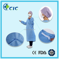 Medical supplier sterile Blue XXL 45gsm disposable surgical gown