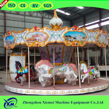 Commerical carousel rides activity amusement
