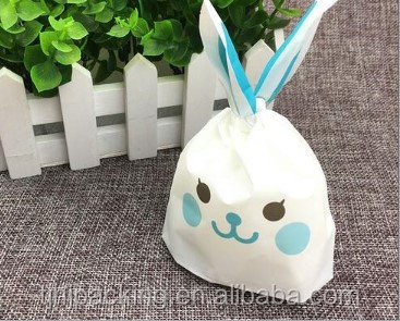 Cookies rabbit long ear plastic bags