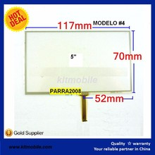 Touch Screen Digitizer Glass Replacement Part for 5 inches 117X70mm universal Tablet Pantalla Tactil Touch Screen