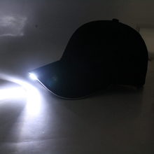 new custom LED flashing cotton running hats/caps