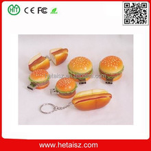 high simulation bread shape usb flash drive, food shape bread usb sticks 200gb, hotdog usb 2 tb