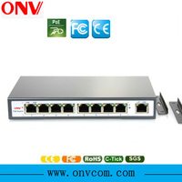 hanging on the wall or ceiling 9-Port PoE Switch with 4 PoE Ports