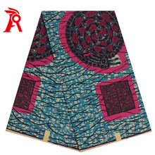 Ankara style Africa real wax printed fabric for party garment