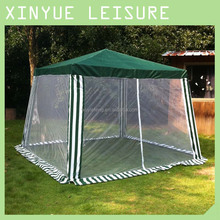 garden 3x3 meter mosquito net gazebo for sale