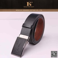high quality PU belts with changeable buckles