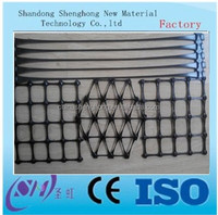 2016 best quality PP Biaxial Geogrid for soft soil reinforcement