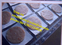 hamburger meat pie making machine/ chicken fish meat patty making machine
